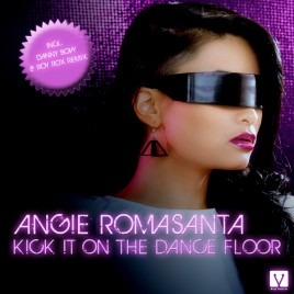 KICK IT ON THE DANCE FLOOR BY ANGIE ROMASANTA